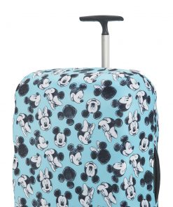 Samsonite Accessoires Disney Lycra Cover M mickey/minnie blue Kofferhoes