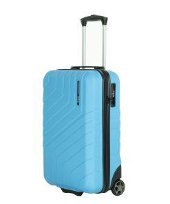 Travelbags Barcelona 2 Wheel Trolley 55 sky blue Harde Koffer