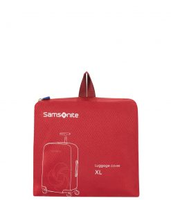 Samsonite Accessoires Foldable Luggage Cover XL red Kofferhoes