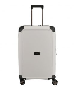 Titan Compax 4 Wiel Trolley M Expandable white Harde Koffer