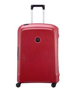 Delsey Belfort 3 4 Wiel Trolley 70 red Harde Koffer