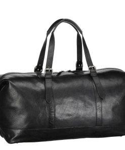 Leonhard Heyden Roma Travel Bag black Weekendtas