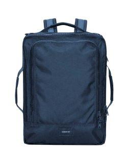 Sandqvist Tyre Travel Backpack navy Weekendtas