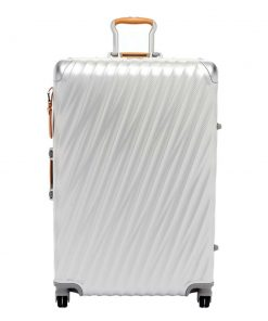 Tumi 19 Degree Aluminium Extended Trip Packing Case texture silver Harde Koffer