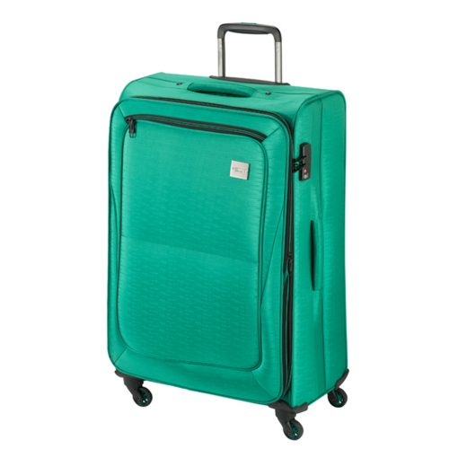 Princess Traveller Colombo 4 Wiel Trolley L green Zachte koffer