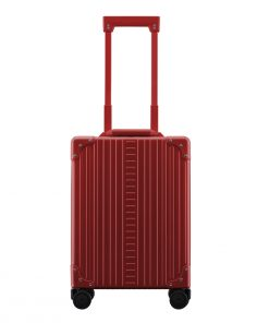 Aleon Aluminium Vertical Business CarryOn red Harde Koffer