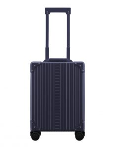 Aleon Aluminium Vertical Business CarryOn blue Harde Koffer