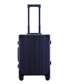 Aleon Aluminium Domestic CarryOn blue Harde Koffer