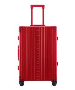 Aleon Aluminium Traveler red Harde Koffer