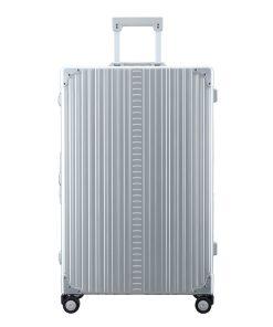 Aleon Aluminium Macro Traveler silver / grey Harde Koffer