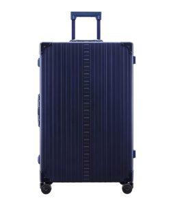 Aleon Aluminium Macro Traveler blue Harde Koffer