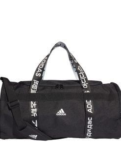 Adidas Training 4ATHLTS Duffel M black/black/white Weekendtas