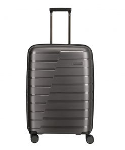 Travelite Air Base 4 Wiel Trolley M Expandable anthracite Harde Koffer