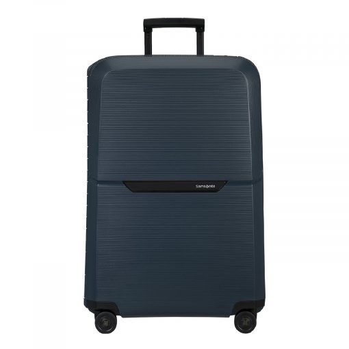 Samsonite Magnum Eco Spinner 81 midnight blue Harde Koffer