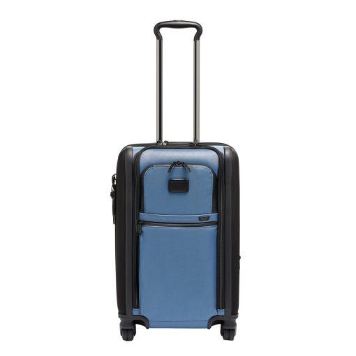 Tumi Alpha International Dual Access Carry-On storm blue Zachte koffer