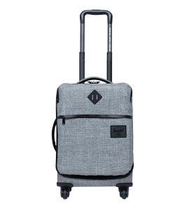 Herschel Supply Co. Highland Carry-On Trolley raven crosshatch Zachte koffer